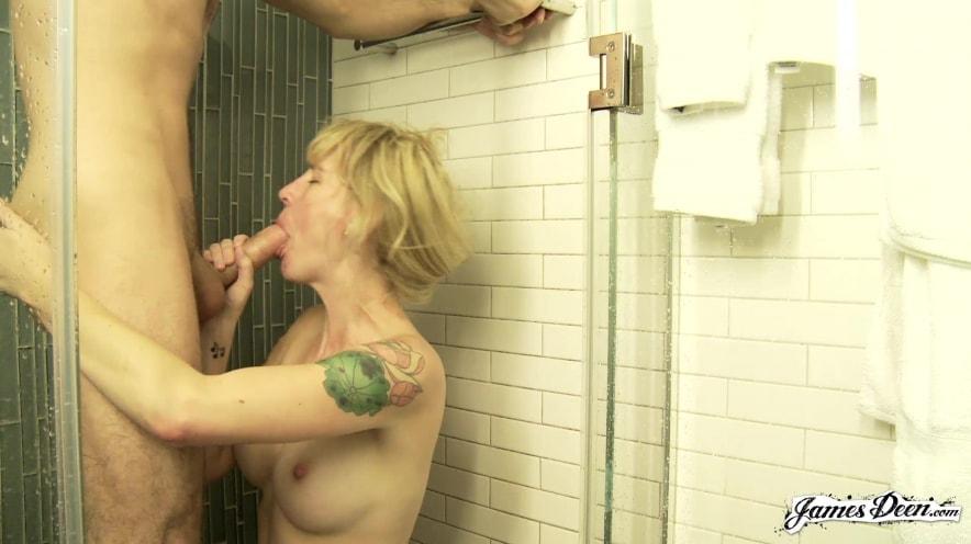 Blonde Teen Sex Bathroom