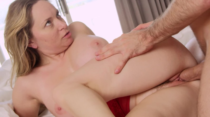 Big Natural Tits Sucking Dick