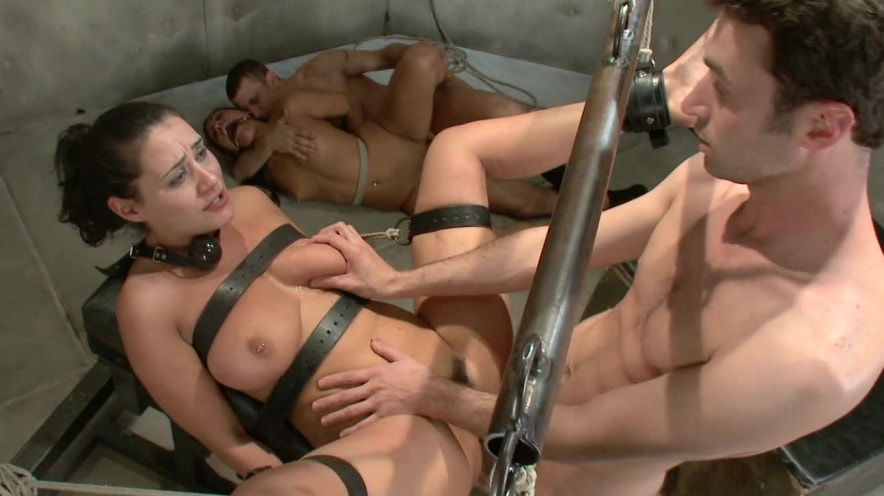 Charley Chase and Jade Indica: Bound, Gagged, And Used
