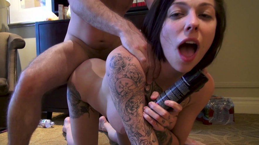 Harlow Harrison Gets Caught Being An Anal Slut